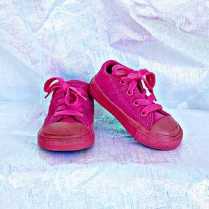 Toddler Pink Converse Shoes